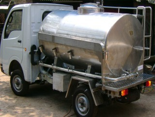 Mobile Milk Tanker